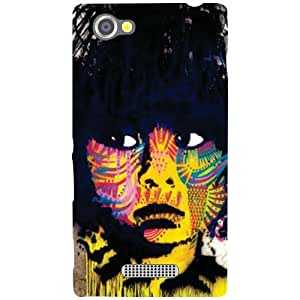 Sony Xperia M Back cover - Big Eyes Designer cases