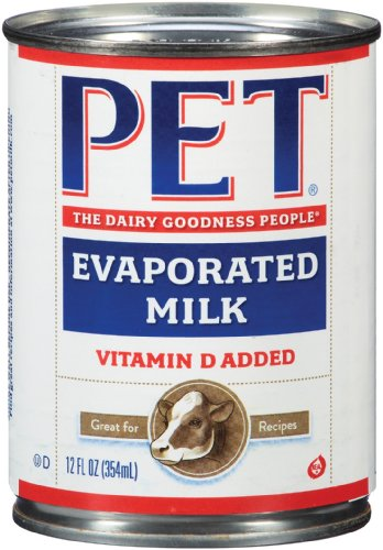 Pet Evaporated Milk, 12 Ounce (Pack of 24) (Canned Evaporated Milk compare prices)