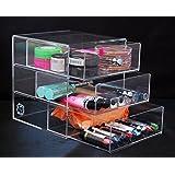 Acrylic Makeup, Cosmetic & Jewelry Organizer #3D