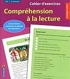 Cahier d'exercices compréhension à la lecture (rose)
