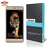 #4: Kaira Screen Protector Premium Coated Tempered Glass Screen Protector Film Guard for Coolpad Note 5 (Anti-explosion With all Finger Print sensor/Camera Cutting)