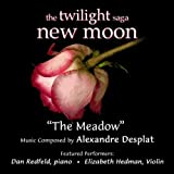 """The Meadow - Love Theme From """"The Twilight Saga: New Moon"""" for Piano and Violin (Alexandre Desplat)- Single"""
