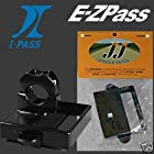Motorcycle Toll E-Z Pass or IPass Holder Cruiser Bike