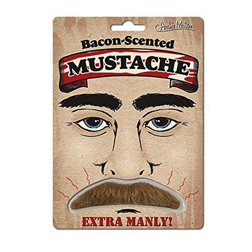 Bacon Scented Ultimate Man Fake Mustache