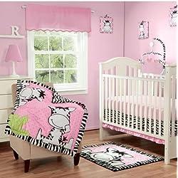 aa932bdef35bb Baby Boom I Luv Zebra Crib Bedding