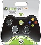 Manette sans fil noire pour Xbox 360