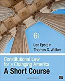 img - for Constitutional Law for a Changing America; A Short Course book / textbook / text book