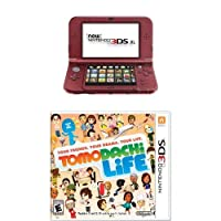 Nintendo 3DS XL Red with Tomodachi Life from Nintendo