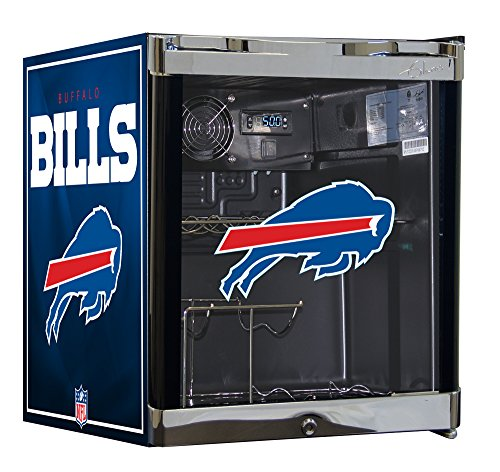 NFL Wine Cooler & Beverage Center Combo - Buffallo Bills (Wine Cave compare prices)
