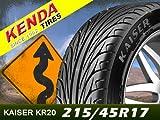 ケンダ(KENDA) 1本セット KAISER KR20 215/45R17