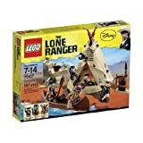 Game / Play LEGO The Lone Ranger Comanche Camp (79107). Collectible Toy Playset Plastic Durable Toy / Child /...