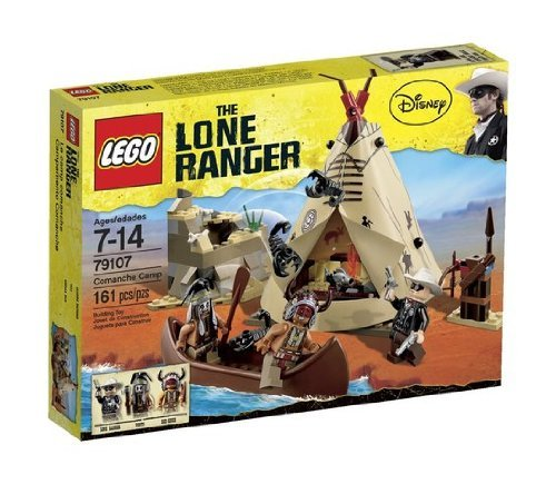 Game / Play LEGO The Lone Ranger Comanche Camp (79107). Collectible, Toy, Playset, Plastic, Durable Toy / Child / Kid (Lone Ranger Playset compare prices)