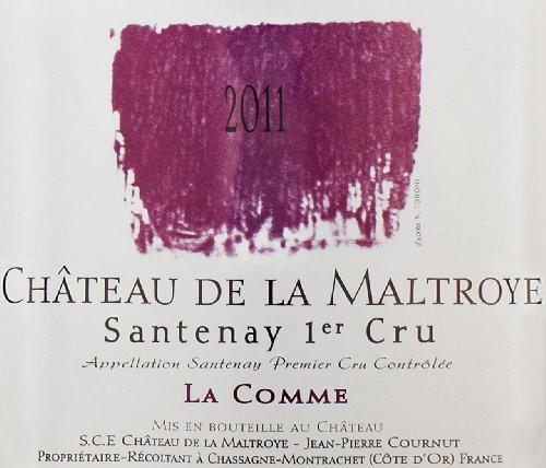 2011 Chateau De La Maltroye Rouge, Santenay 1Er Cru 750 Ml