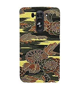 PrintVisa Flower Pattern 3D Hard Polycarbonate Designer Back Case Cover for LG G3 BEAT