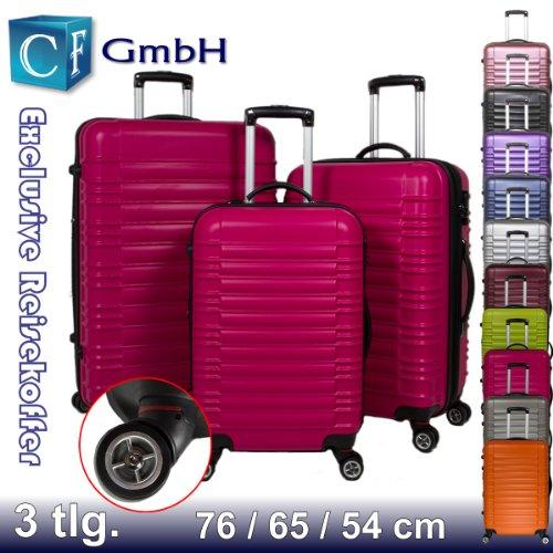 Peach 3 tlg. LG2088 Reisekofferset Koffer Kofferset