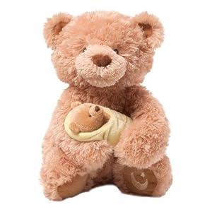 "Gund Fun Rock-A-Bye Baby Bear Animated 10"" Plush from Gund Fun"