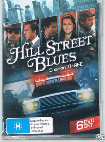 Hill Street Blues - Season 3 (region 2 compatible dvd)