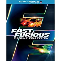 Fast & Furious 6-Movie Collection (Blu-ray + DIGITAL HD with UltraViolet)