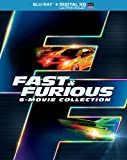 Fast & Furious 6-Movie Collection (Bl...