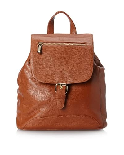 Zenith Women's Casual Backpack, Cognac
