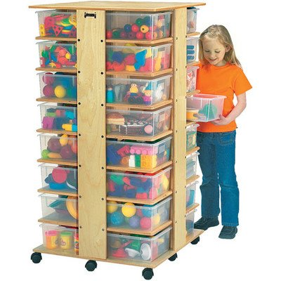 Jonti-Craft 03549JC 32 CUBBIE TOWER Without tubs