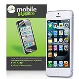 """Schutzfolie iPhone 5 / 5S Displayschutzfolie Wache x 8 Packen Mit Micro Faser Poliertuch Und Anwendung Kartevon """"Mobile Madhouse"""""""