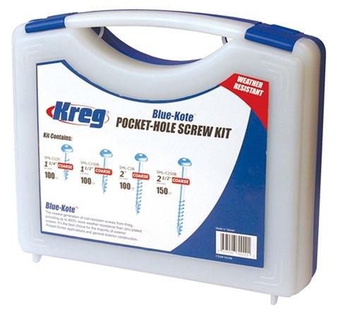 Kreg SK03B  Blue-Kote Pocket-Hole Screw Kit
