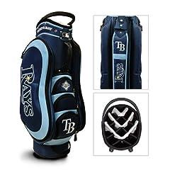 Tampa Bay Rays MLB Cart Bag - 14 way Medalist - TGO-97635 by Team Golf