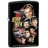Zippo Lighter - Star Trek The Classic Crew Black Matte