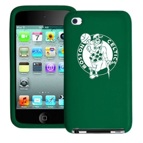Tribeca FVA3739 Varsity Silicone Jacket for iPod Touch 4G - Boston Celtics - Green at Amazon.com
