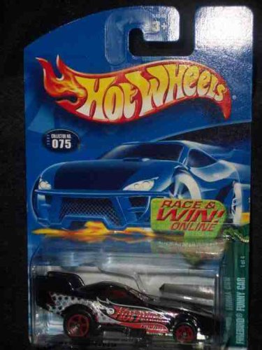 Cold Blooded Series #1 Firebird Funny Car #2002-75 Collectible Collector Car Mattel Hot Wheels - 1