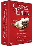 echange, troc Capes & épées - Coffret - Cartouche + Capitaine Fracasse + Les 3 mousquetaires + On l'appelait Milady