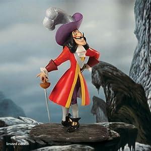 Wdcc captain hook capitaine crochet figurine disney - Peter pan et capitaine crochet ...