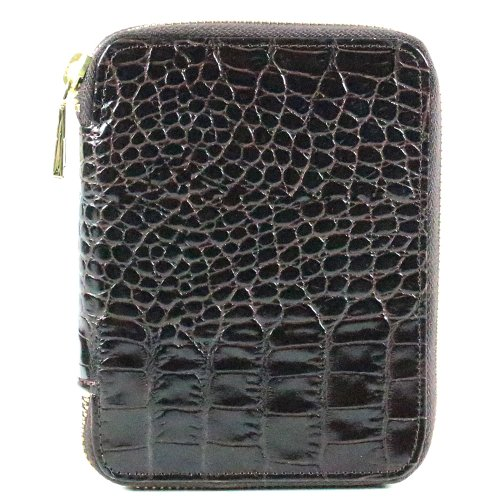 Marc By Marc Jacobs Marc by Marc Jacob Croc Embossed Agenda Wallet Wine