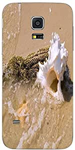 Snoogg The Mussel On The Ocean Beach Designer Protective Back Case Coverfor S...