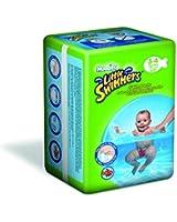 Huggies Little Swimmers Taille 3-4 (7-15 kg) Couches de natation jetables - Pack de 12 - lot de 2 (24 couches)