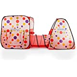 Dimple Pop Up Tent with Tunnel
