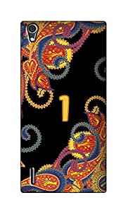 SWAG my CASE Printed Back Cover for Huawei Ascend P7