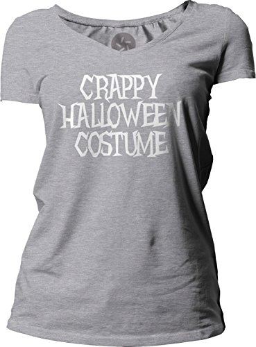 Big Texas Crappy Halloween Costume (White) Women's Short-Sleeve V-Neck T-Shirt