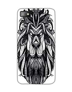 Dukancart animal Black Back Cover for Blackberry Z10 DDBZ100262