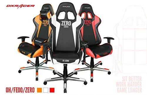 DXRacer-FE00ZERO-Racing-Bucket-Seat-Office-Chair-Gaming-Ergonomic-with-Lumbar-Support