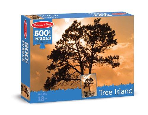 Melissa & Doug Tree Island Cardboard Jigsaw Puzzle, 500-Piece