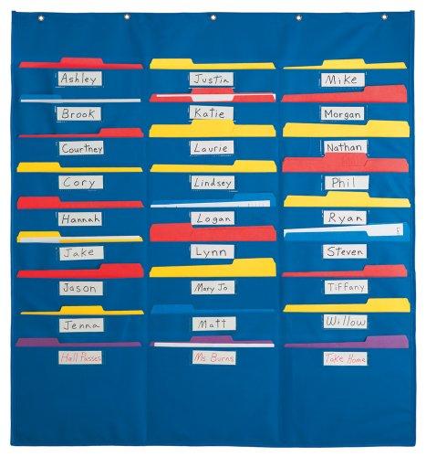 Organization Center Pocket Chart (Pocket Chart Organizer compare prices)