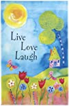 Colorful Meadow Live Love Laugh Lawn…