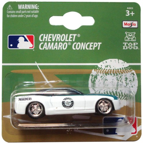 MLB Seattle Mariners 1:64 Camaro Die Cast Car at Amazon.com