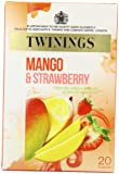 Twinings Strawberry and Mango 20 Teabags (Pack of 8, Total 160 Teabags)