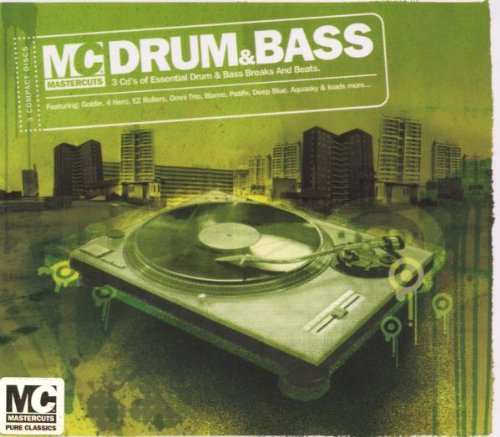 Mastercuts Drum & Bass cds