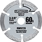 1 Pc 3-3/8-inch #60 Grit Saw Blades for Rockwell Versa Cut. #60 Grit Blades Designed for the Rockwell Versacut.