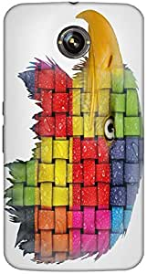Timpax protective Armor Hard Bumper Back Case Cover. Multicolor printed on 3 Dimensional case with latest & finest graphic design art. Compatible with Google Nexus-6 Design No : TDZ-28092