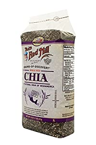 Bob's Red Mill Chia Seeds, 16-oz. Bags (Count of 4)